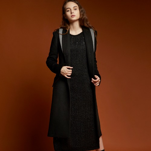 EX.8F0L003-C Long Slim Coat