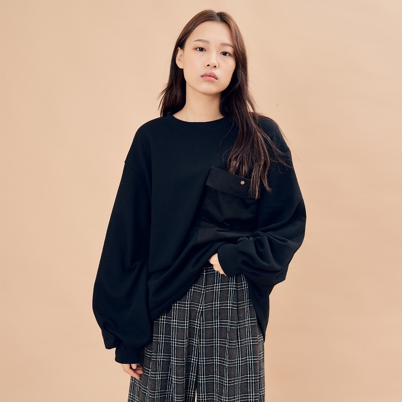 2019 F/W [EX.9F0T002-0] Pocket Puff MTM - Black