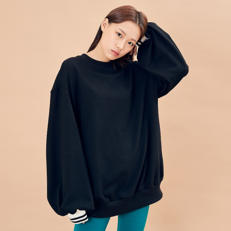 2019 F/W [EX.9F0T001-0] Over Puff MTM - Black